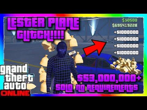 GTA 5 $53000000 MONEY GLITCH! *SOLO* (Unlimited Money) *Lester Money Glitch* (1k every 2 sec)