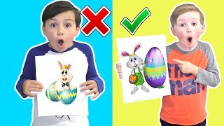 Easter 3 Marker Challenge - The Easter Bunny CHEATED!