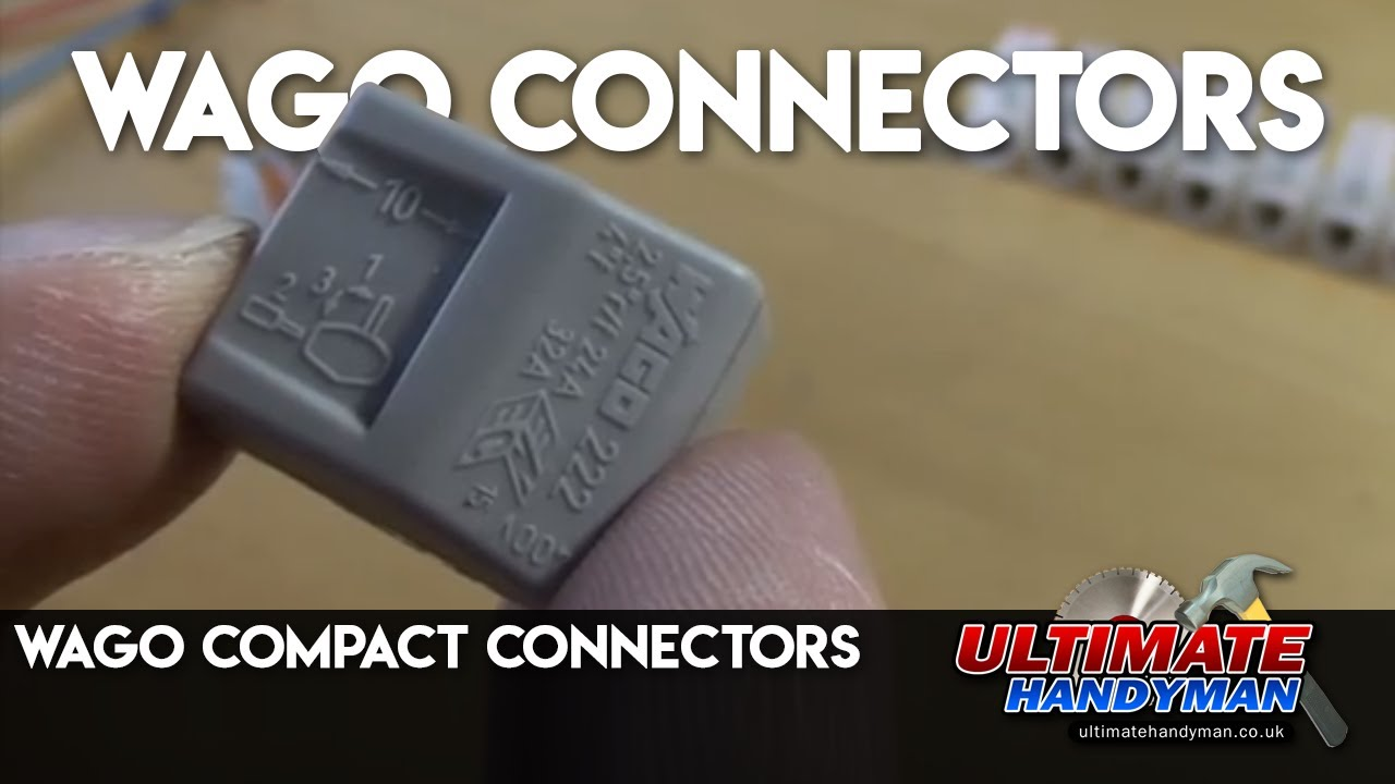 wago compact connectors - Ultimate Handyman DIY tips - YouTube