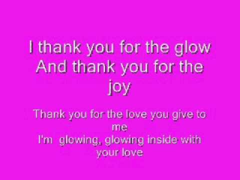 Glowing Inside Lyrics