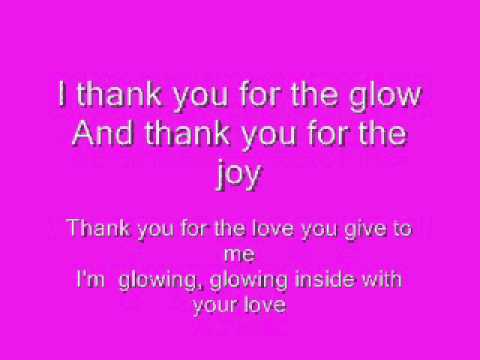 Glowing Inside Lyrics
