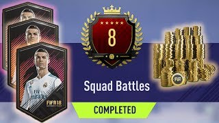 FIFA 18 Squad Battles - I came 8th - Never Playing AGAIN (RANT)