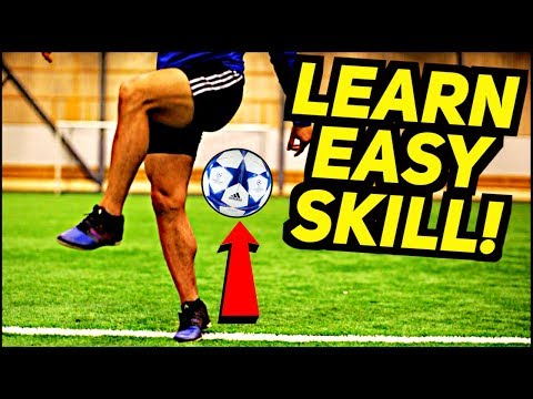 Learn This EASY & AMAZING Freestyle Skill FAST! RonaldoMessiNeymar Football Skills