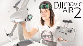 DJI Mavic Air 2 -el nuevo REY DRONE con 8K-