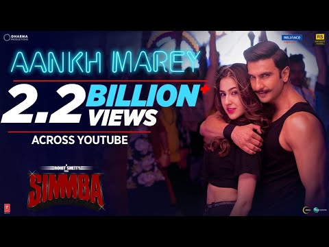 SIMMBA: Aankh Marey Song