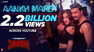 Aankh Marey (Full Video Song) | Simmba (2018)