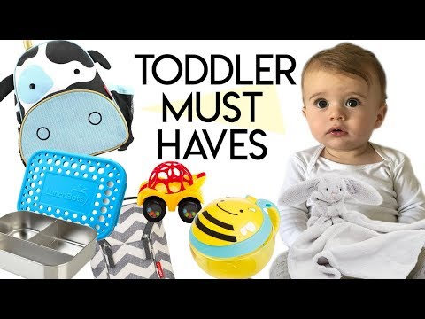 8 Toddler Essentials I Won't Leave The...