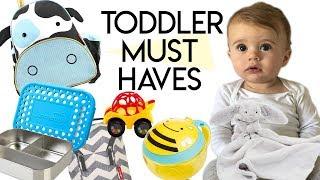 8 Toddler Essentials I Won
