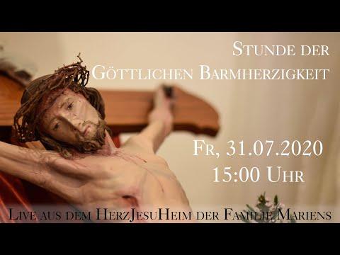 Fr., 31.07.2020, 15:00 Uhr Heilige Stunde - Live aus dem HerzJesuHeim der Familie Mariens from YouTube · Duration:  55 minutes 23 seconds