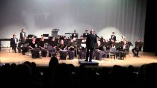 On Parade March by Edwin Franko Goldman - CCHS Sound of Pride Wind Ensemble 2011 pre-fba concert