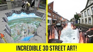 45+ Most Amazing 3D Street Art