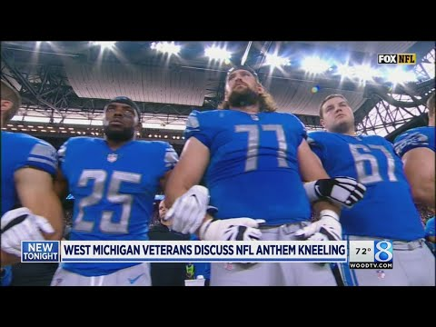 Disrespect or free speech? Vets on kneeling for anthem