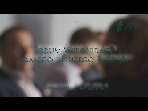 Forum Współpracy Małego i Dużego Biznesu - 27.09.2016