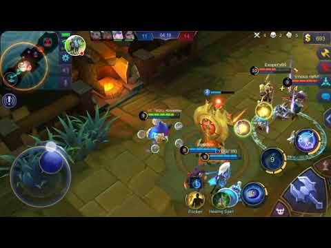 MOBILE LEGEND~ SAVAGE IN BRWAL MODE!!!