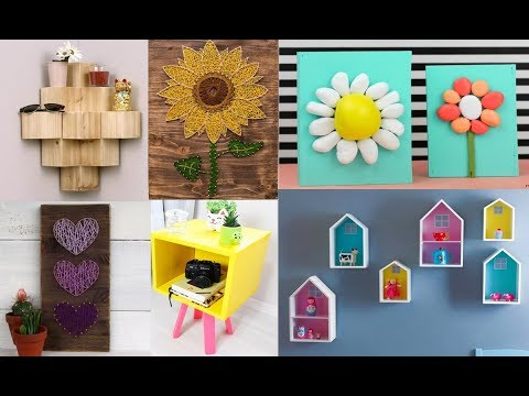 DIY Room Decor & Organization COMPILATION  For 2018 - Easy Crafts Ideas at Home