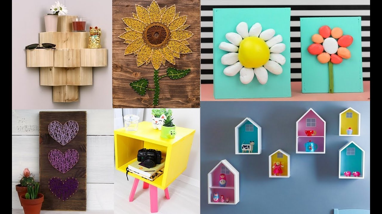 DIY ROOM DECOR! Easy Crafts Ideas at Home 11 - Diy Projects For Your Room  11