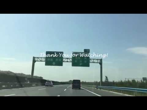 Driving On The Beijing–Hong Kong–Macau Expressway. Self-driving! Road Trip! Driving Trip In China.
