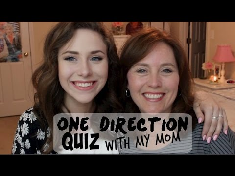 One Direction Quiz & Q&A with My Mom!