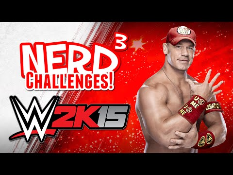 Nerd³ Challenges! I Can't See You! - WWE 2K15