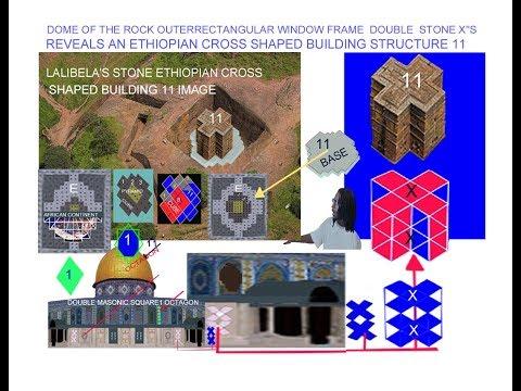 -ETHIOPIAS CROSS SHAPED  BUILDING1 1 ORIGIN OF DOMEOFTHEROCKDUALSTONEX's
