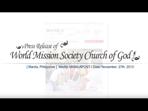[Manila, Philippines News] Int'l groups help repack goods for Yolanda victims_WMSCOG_GOD THE MOTHER