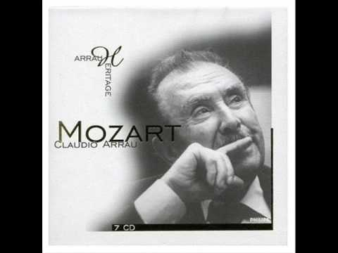 Mozart by Arrau  - Fantasy in D minor, K. 397