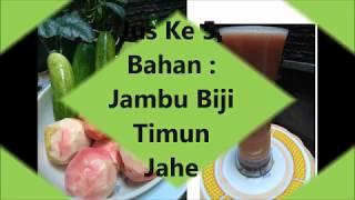 Kombinasi Jus Untuk 7 Hari | Menu Diet Sehat Murah Ala Dewi Hughes | Juice Combination | Jus Fasting