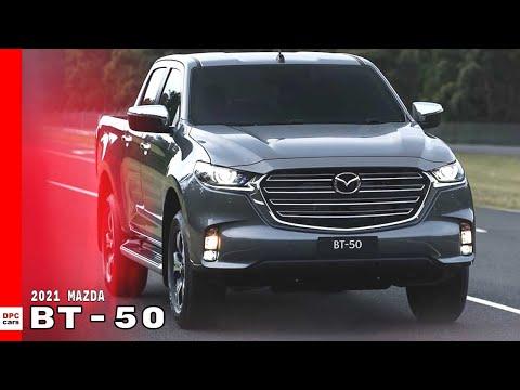 2021 Mazda BT 50 Pickup truck Explained