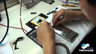 Hướng dẫn thay mặt kính cảm ứng  , màn hình  Sony Xperia Z3