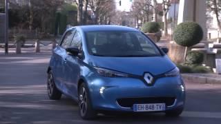 Essai Renault Zoe Electrique Intens Gamme 2017