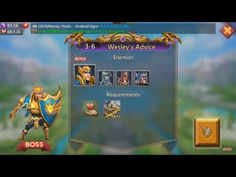 Lords Mobile Challenge 3-6