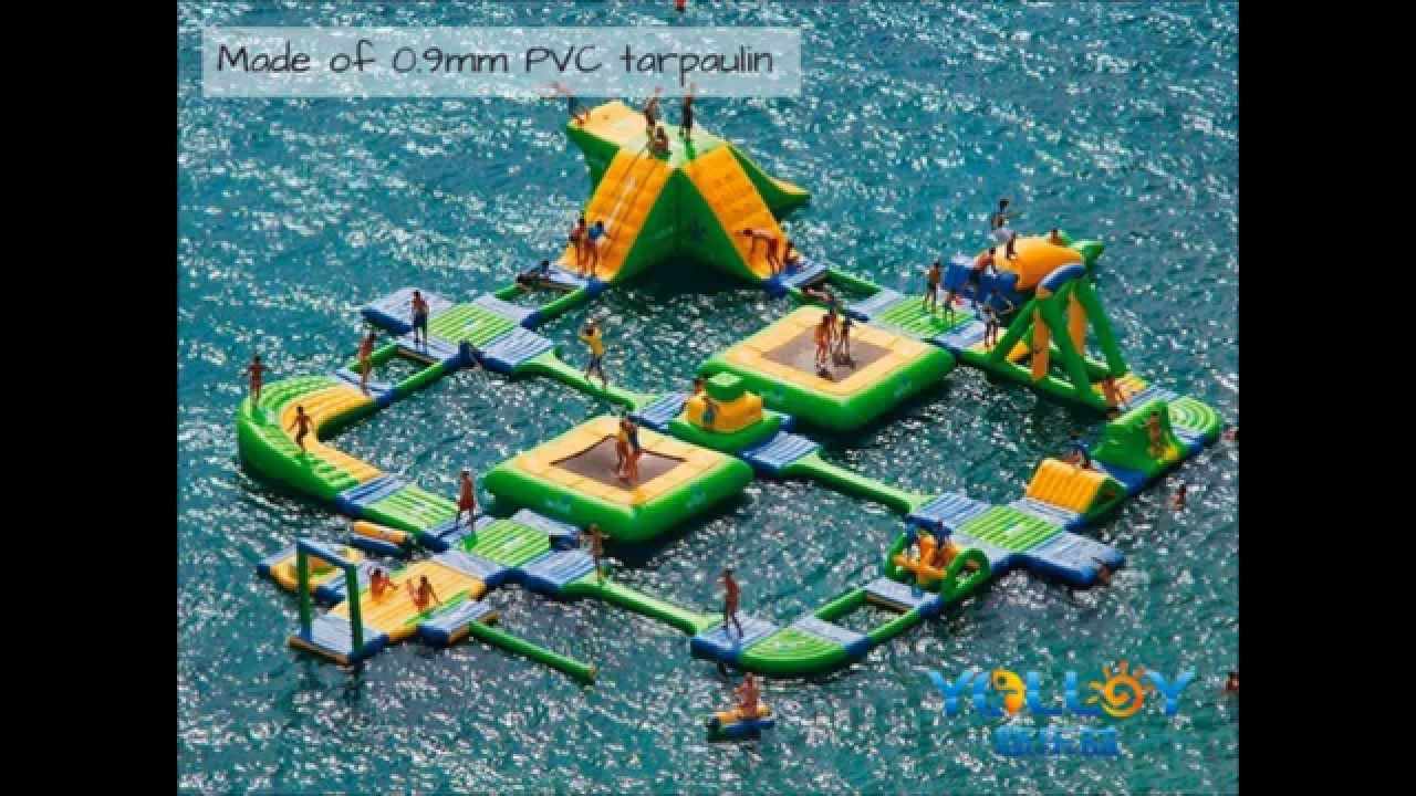 Uncategorized Water Park Games inflatable water park games youtube