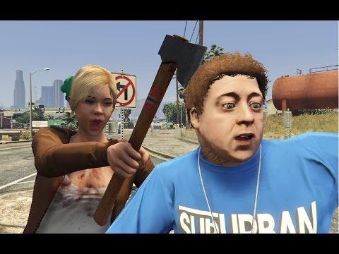 GTA V Tracey kills Jimmy