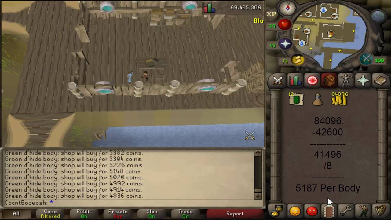 OSRS - Zeah General Store - 15m+ GP\HR - Better than Karamja Shop [PATCHED]