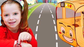 The Wheels on the Bus Song   Nicole Nursery Rhymes & Kids Songs