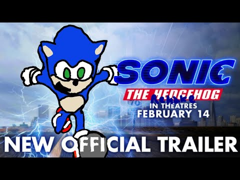 Sonic The Hedgehog (2020) New Official Trailer Remake