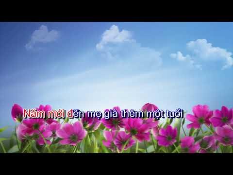 karaoke beat  Mỗi Mùa Xuân Về Lại Thêm Một Lần Dối Mẹ - Bảo Khánh