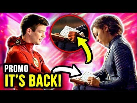 Nora's SECRET Journal! Speedforce Symbols RETURN! - The Flash Season 5 Episode 5 Promo