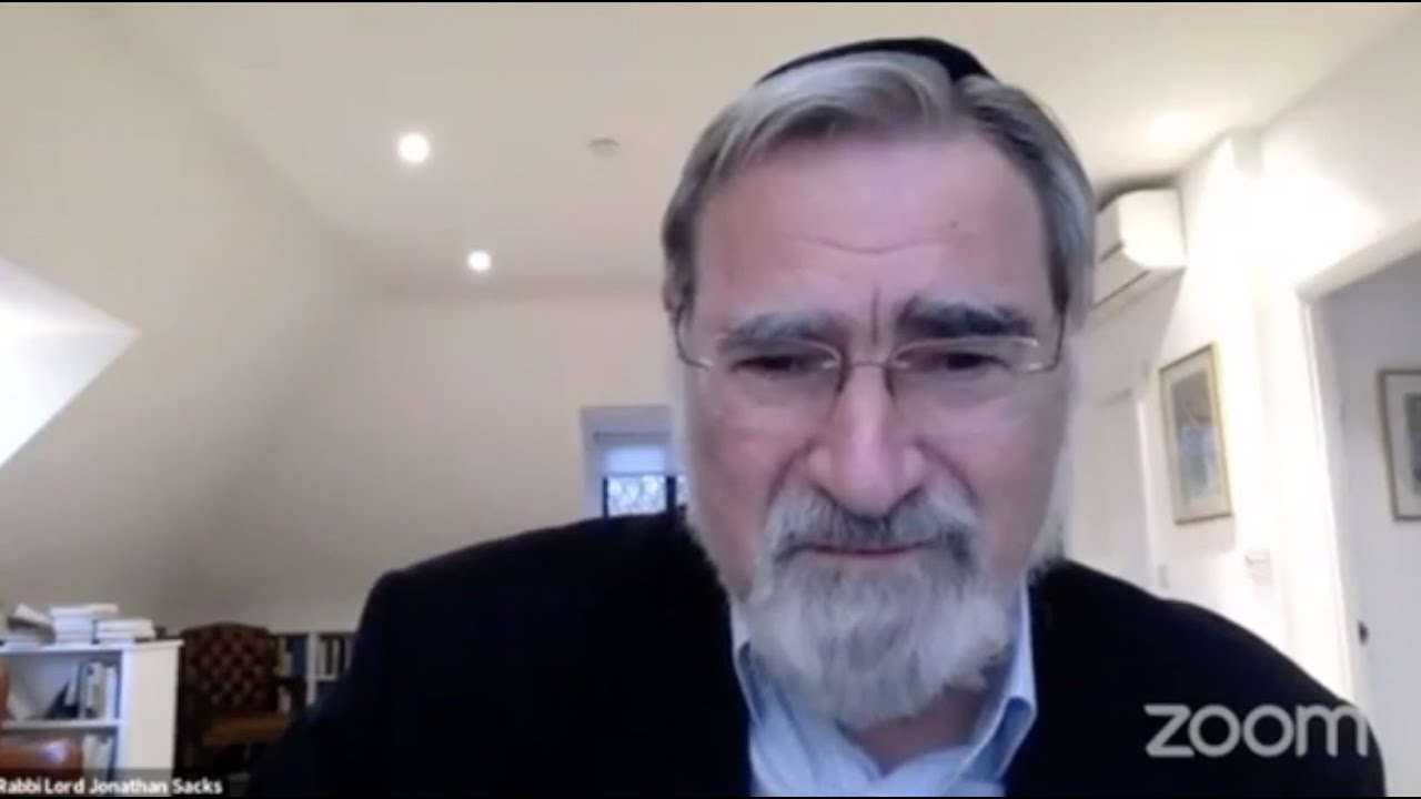 Remembering Lord Jonathan Sacks