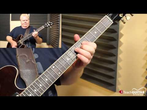 """Guitar Lesson - Learn Jimi Hendrix's """"Red House"""""""