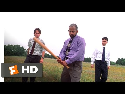 Office Space (4/5) Movie CLIP - Copy Machine Beat Down (1999) HD