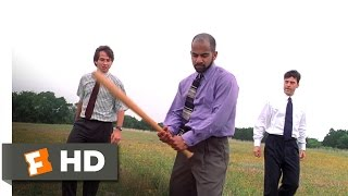 Office Space (4/5) Movie CLIP - Copy Machine Beat Down (1999) HD