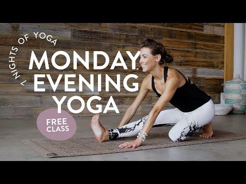 Monday Evening Yoga Class 🌙 (FULL CLASS)