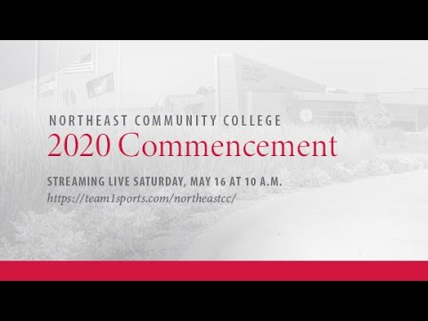 Northeast Community College Commencement Ceremony 2020