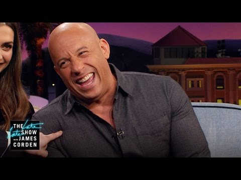 Vin Diesel Auditions for Carpool Karaoke