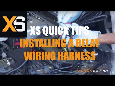 XS HID Quick Tips: Installing a Relay Wiring Harness