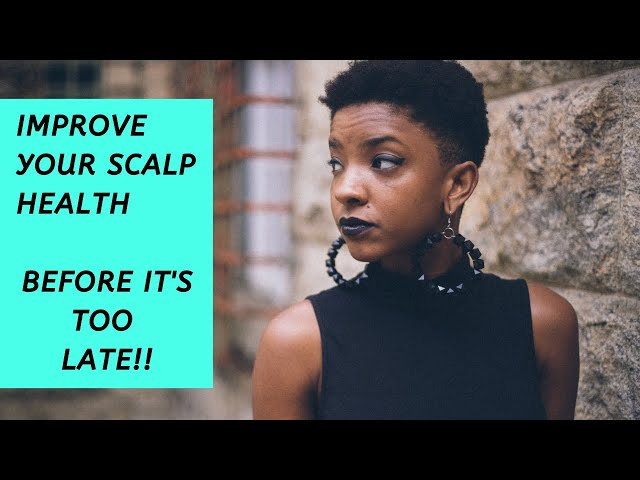 create better Scalp health before it's too late!