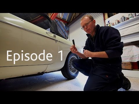 How To Check Your Classic Car Body Work | Footman James Beginners Workshop Ep 1