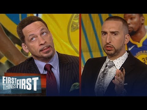 Chris Broussard argues why KD should stay in Golden State | NBA | FIRST THINGS FIRST
