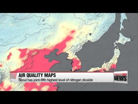 New NASA satellite maps show human fingerprint on global air quality